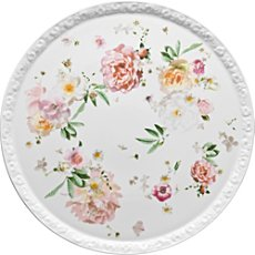 Rosenthal Selection Maria Pink Rose cake plate, round