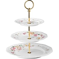 Rosenthal Selection Maria Pink Rose cake stand