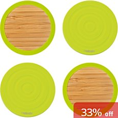 Pack of 4 Contento drink coasters