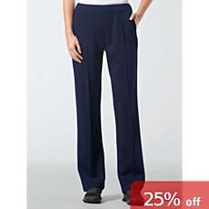 Schneider interlock jersey trousers