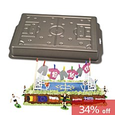Maiback  cake mould football field