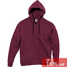 Fruit of the Loom sweat jacket with hood