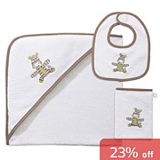 Kinderbutt 3-pc toweling set