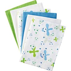 Pack of 6 Baby Butt muslin squares