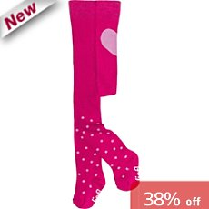 Lief tights with hearts and dots