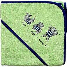 Wörner hooded bath towel