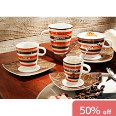 Gepolana 8-pc tea set