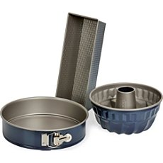 Kaiser 4-pc cake pan set