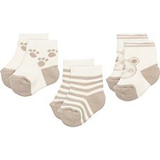 Pack of 3 newborn socks