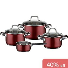 ELO  cooking pot set, 7-parts