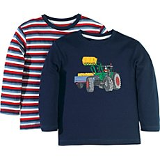 Pack of 2 Kinderbutt long sleeve T-shirts