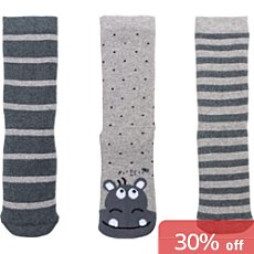 Pack of 3 Kinderbutt terry socks