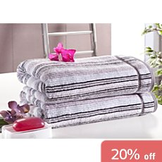 Pack of 2 Erwin Müller terry bath towels
