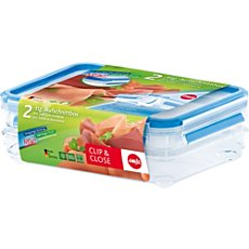 2-pk Emsa food storage containers for cold cuts