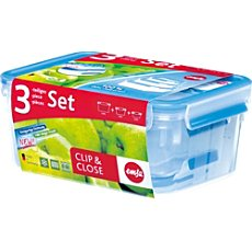 Emsa 3-pc food storage set