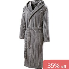 Erwin Müller hooded bathrobe
