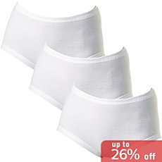 Pack of 3 laritaM fine full briefs