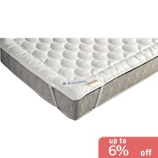 Pack of 2 Erwin Müller Trevira-Fill-Bioactive mattress toppers