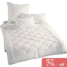Erwin Müller 2-pc bedding set, quilted duvet