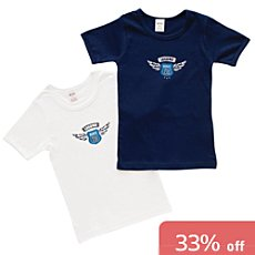Pack of 2 Jacky underwear T-shirts