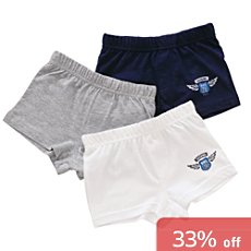 Pack of 3 Jacky boxer pants