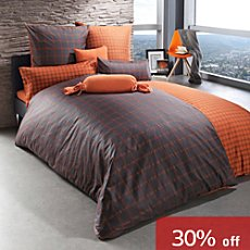 Erwin Müller luxury flannelette duvet cover set