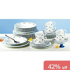 Seltmann Weiden 30-pc combi-tableware set