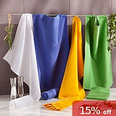 Pack of 4 kitchen towels