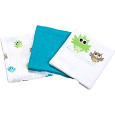 Pack of 3 Odenwälder muslin cloths
