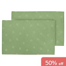 Pack of 2 Erwin Müller wipe-clean table mats