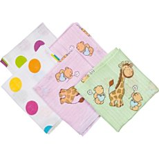 Pack of 5 Fillikid muslin cloths