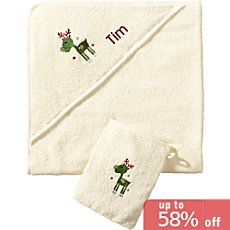 Kinderbutt 2-pc towel set