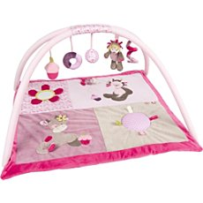 Nattou baby play gym with toy arch