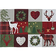 Pack of 2 Sander tapestry place mats