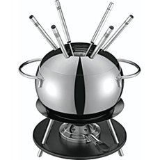 Kuhn Rikon fondue set, 10-parts
