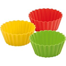 Pack of 12 Kuhn Rikon silicone cupcake liners
