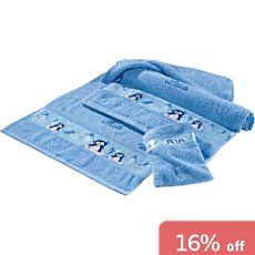 Kinderbutt 3-pc terry towel set