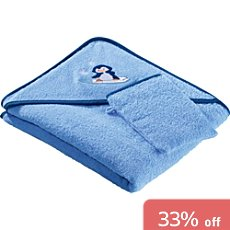 Kinderbutt 2-pc terry towel set