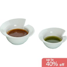 Pack of 4 Gilde dip bowls
