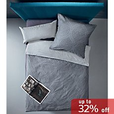 Zeitgeist by Ibena cotton flannelette duvet cover set