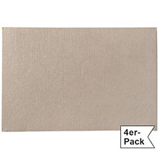 Pack of 4 Gilde felt table mats