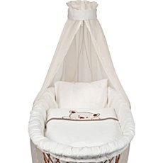 Baby Butt Moses basket bedding set, 4-parts