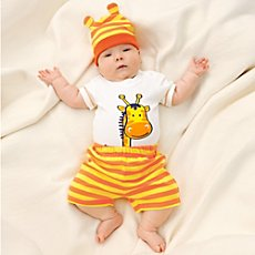Baby Butt 3-pc baby clothing set