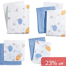 Baby Butt 9-pc cotton cloth set