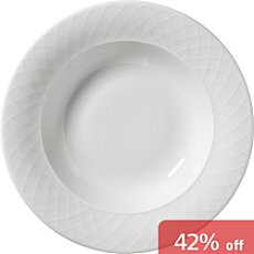 Pack of 6 deep plates