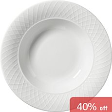 Pack of 4 pasta plates