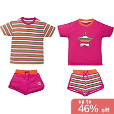 Kinderbutt  4-pc short pyjamas set