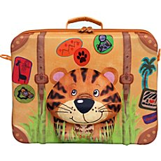 Okiedog  suitcase, tiger