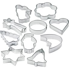 Zenker  cookie cutters, 10-parts