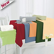 Sander stain resistant square tablecloth Gala